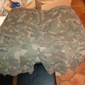 Cammo Cargo Shorts